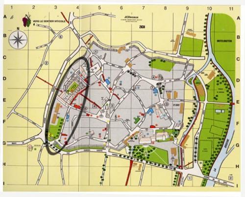 Situation de la Chartreuse dans Molsheim